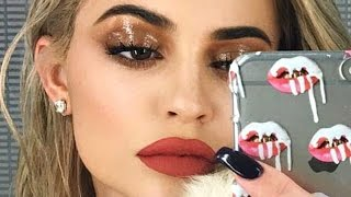 Kylie Jenner Wet Eyeshadow Makeup Tutorial