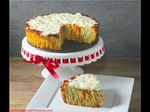 Rigatoni Pie -  Rossella's Cooking with Nonna