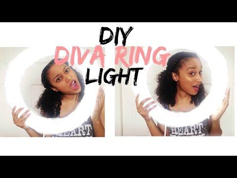 DIY Diva Ring Light | Under $25