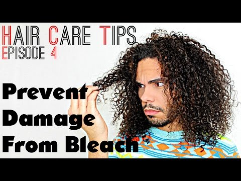 Hair Care Tips S02E04 How To Prevent Damage While Bleaching & Dying Hair