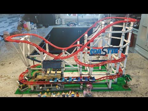 Building the LEGO Roller Coaster