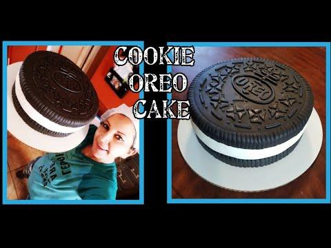 Cookie Oreo cake / pastel de galleta oreo😎😎😋😋