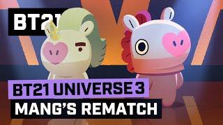 BT21 UNIVERSE 3 ANIMATION EP.04 - MANG's Rematch