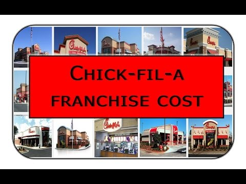chick fil a franchise cost