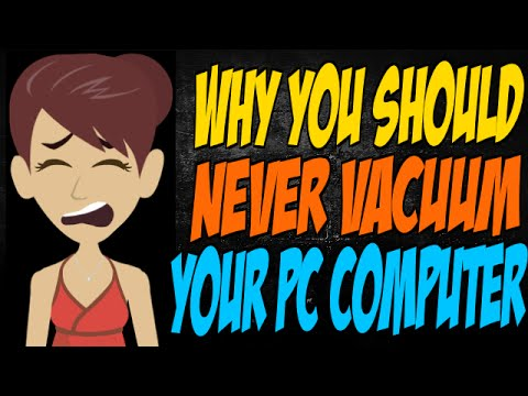 Why You Should Never Vacuum Your PC Computer