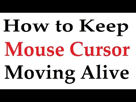 How to Keep Mouse Cursor Moving Alive Without Using The Mouse  Urdu Hindi Tutorial