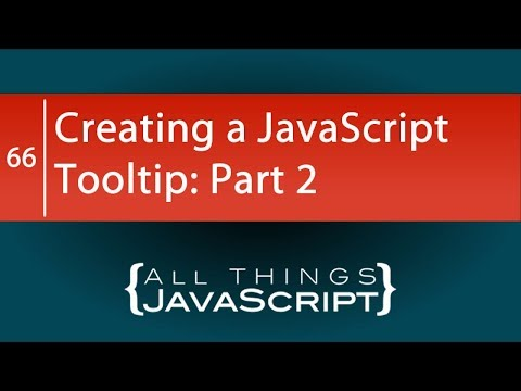 JavaScript Problem: Creating a JavaScript Tooltip: Part 2