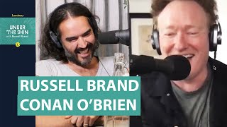 The Role Of The Trickster with Russell Brand & Conan O'Brien