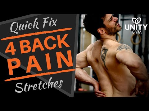 Lower Back Pain | Quick & Easy Fix | At Home Or Office Rehab Exercises   720p