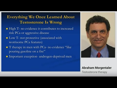 Testosterone Therapy - a 40 Year Perspective on Prostate Cancer | By Dr. Abraham Morgentaler