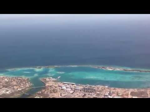 Taking off from Aruba on board Southwest Airlines