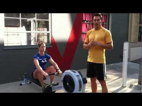 CrossFit Rowing Drill Series - Coach Shane Farmer & Athlete Jenny LaBaw