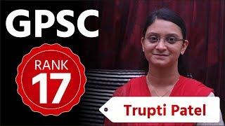 Everything about GPSC Class 1/2 Prelims:- Ravi Joshi, Rank