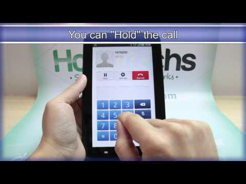 How to Make a Call on Samsung GALAXY Tab