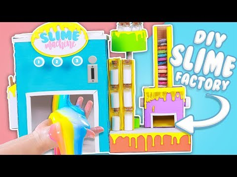 HOW TO MAKE A DIY SLIME FACTORY! (IT REALLY WORKS)