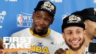 NBA Finals Are All About The Warriors | Final Take | First Take | May 26, 2017