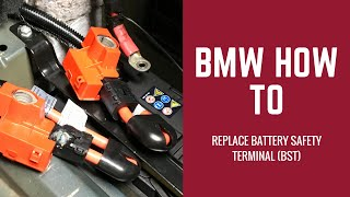 Bmw Battery Safety Terminals Bst Diagnosing And