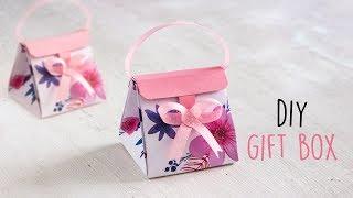 Download DIY Gift Box | Paper Boxes | DIY Activities Video