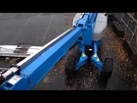 Genie Articulating Boom Z 135 Drive & Boom Extension by Integrated Industrial Services