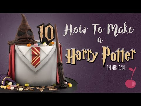 Harry Potter Cake Tutorial | How To | Cherry School