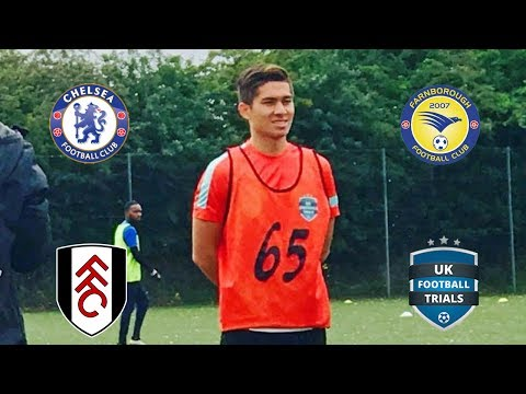 UK Football Trials (Scouts Watching) | Day 53
