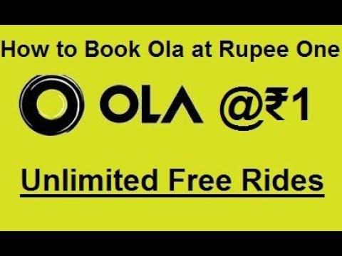 Book Ola Cabs @ ₹1 | Unlimited Free Ola cab Rides | Enjoy free ola cab  rides