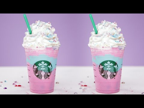 DIY Starbucks Unicorn Frappuccino | Eat the Trend
