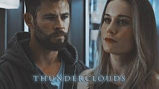 Thor & Carol Danvers | Thunderclouds