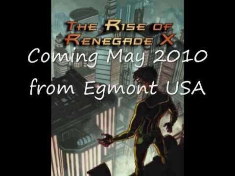 The Rise of Renegade X  - Book Trailer
