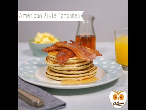 American Style Pancakes by Odlums