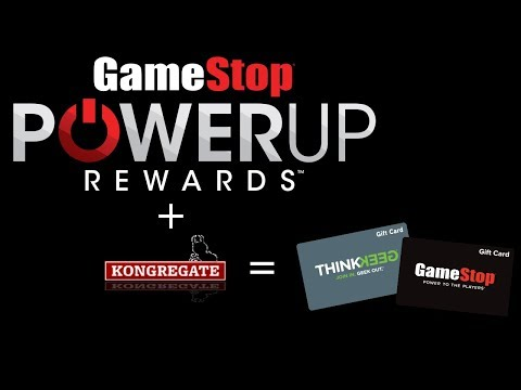 free power up rewards points for gamestop