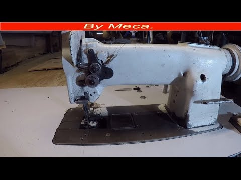 How do you Fix Industrial Sewing Machine Tension DIY Tips #28.