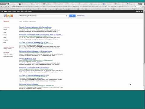 Power searching: Advanced Google search for education