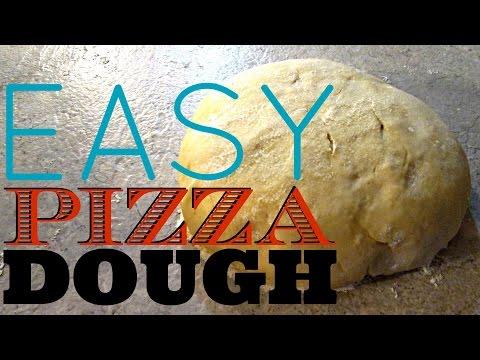 Pizza Dough Recipe - for Pizza, Calzone's & Stromboli - PoorMansGourmet