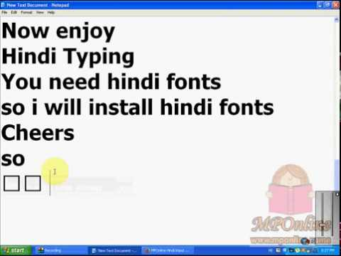 How to Type Hindi with English Keyboard   Offline English to Hindi Converter Tool