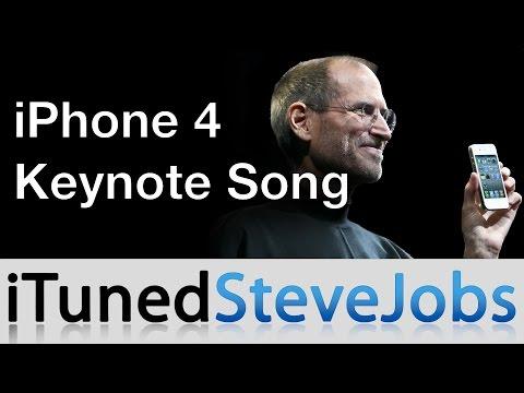  iPhone 4 Keynote Song (Steve Jobs song)