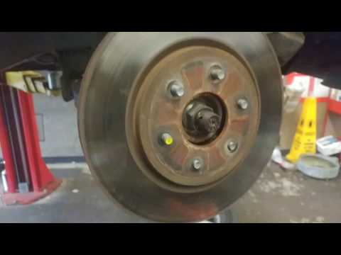 2005 -2012 Nissan Pathfinder front brakes And rotors install