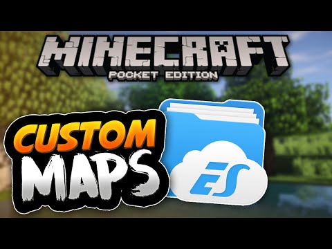 [Android] How To Install Custom Maps  - Minecraft PE (Pocket Edition)