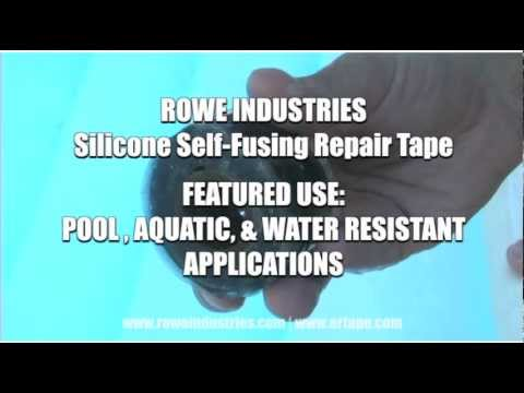 Silicone Self Fusing Repair Tape - ER Tape - Water Resistant and UV Resistant Application