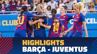 HIGHLIGHTS   Barça - Juventus (2-1)