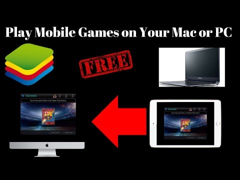 Play ios and Andriod Games On Mac & Pc For Free