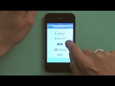 How to Activate Email Accounts in iPhone : iPhone Tips