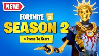 *NEW* Chapter 2 SEASON 2 FIRST LOOK in Fortnite!