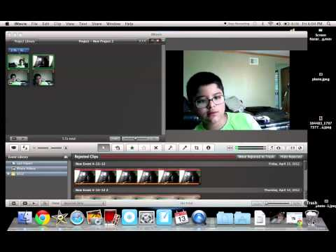 How to delete everything from iMovie!