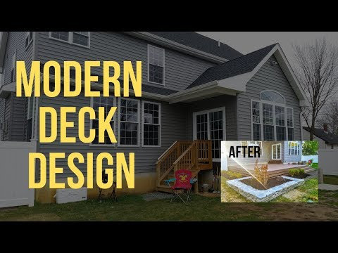 Building a Custom Deck and Landscape