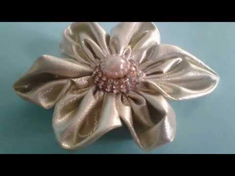 How to make a flower with cloth   cloth flower  diy craft