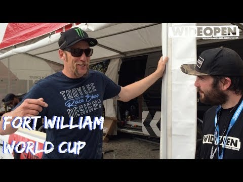 What is Steve Peat doing at this weekend's World Cup? | Fort William World Cup