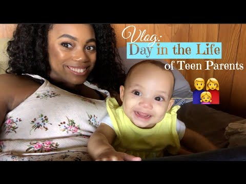 Vlog// Day in the Life of Teen Parents: College, Family Birthday Party