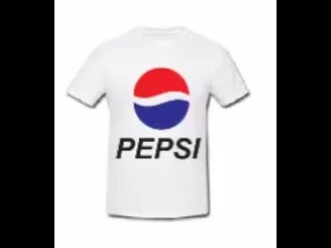 COREL DRAW 2017 HOW TO CREATE PEPSI LOGO IN T-SHIRT by online classes