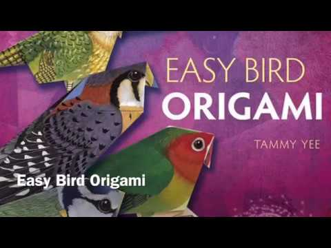 Easy Bird Origami Instructions for Standing and Flying Birds